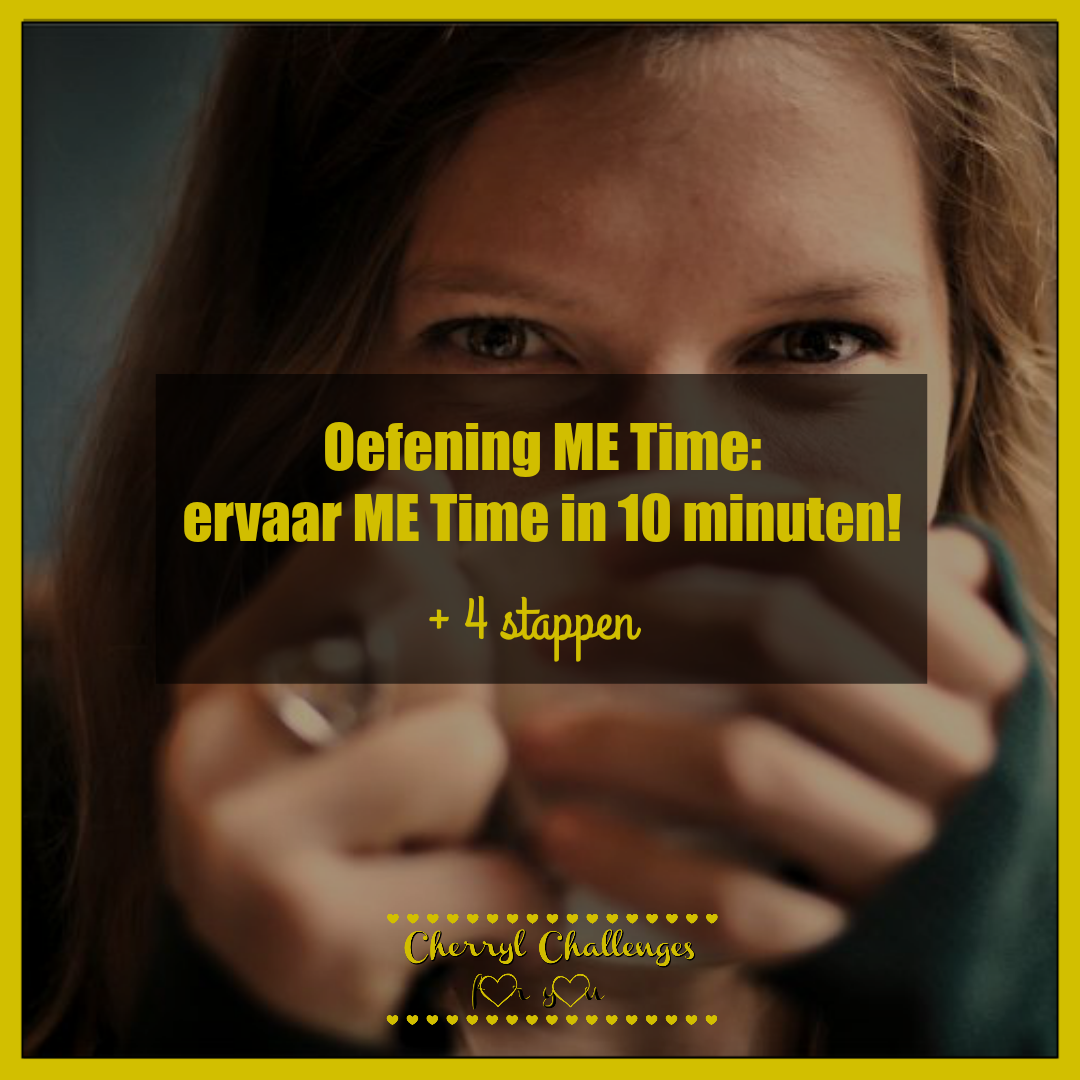 oefening Me Time Cherryl Challenges