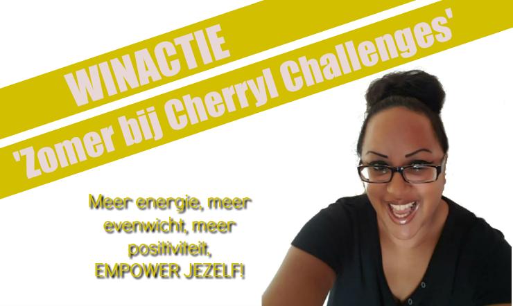 winactie zomer bij Cherryl Challenges